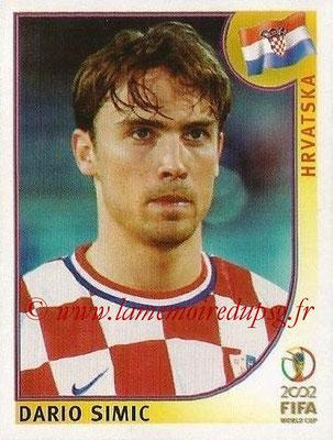 2002 - Panini FIFA World Cup Stickers - N° 478 - Dario SIMIC (Croatie)