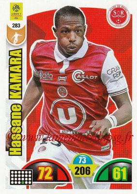 2018-19 - Panini Adrenalyn XL Ligue 1 - N° 283 - Hassane KAMARA (Reims)