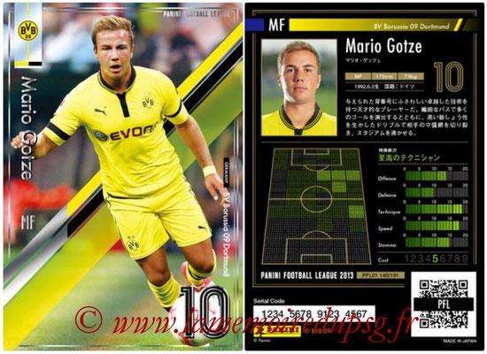 Panini Football League 2013 - PFL01 - N° 140 - Mario Gotze ( BV Borussia 09 Dortmund )