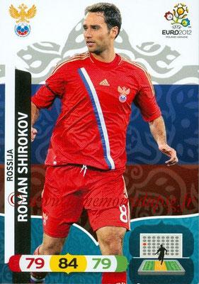 Panini Euro 2012 Cards Adrenalyn XL - N° 196 - roman SHIROKOV (Russie)