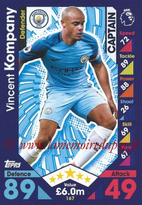 2016-17 - Topps Match Attax Premier League - N° 167