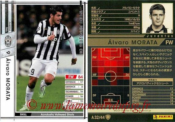 2013-14 - WCCF - N° A32 - Alvaro MORATA (Juventus FC)