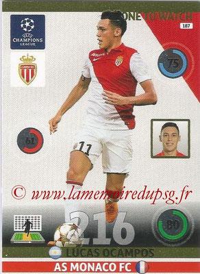 2014-15 - Adrenalyn XL champions League N° 187 - Lucas OCAMPO (AS Monaco) (One to watch)