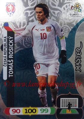 Panini Euro 2012 Cards Adrenalyn XL - N° 276 - Tomas ROSICKY (République Tchèque) (Master)