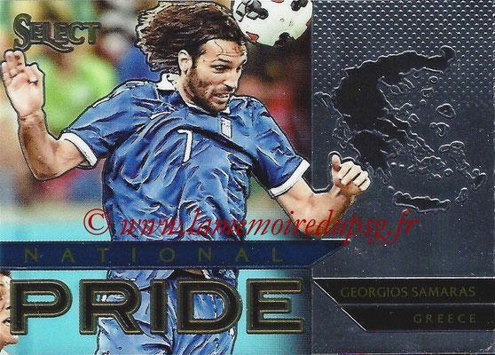 2015 - Panini Select Soccer - N° NP21 - Georgios SAMARAS (Grèce) (National Pride)