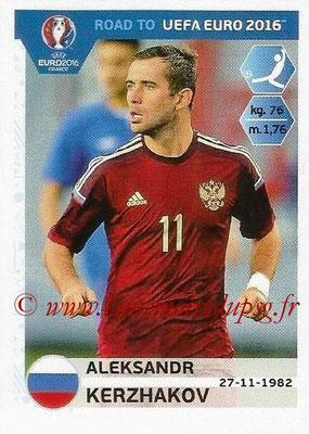 Panini Road to Euro 2016 Stickers - N° 271 - Aleksandr KERZHAKOV (Russie)
