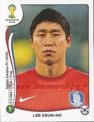 2014 - Panini FIFA World Cup Brazil Stickers - N° 639 - Lee KEUN-HO (Corée du Sud)