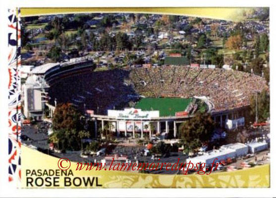 Panini Copa America Centenario USA 2016 Stickers - N° 004 - The Rose Bowl Pasadena