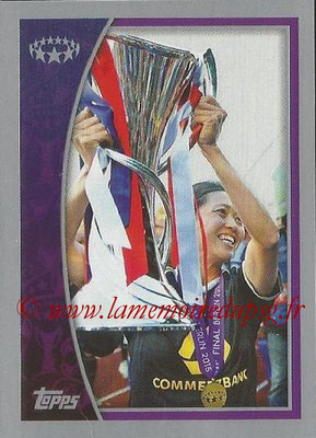 2015-16 - Topps UEFA Champions League Stickers - N° 618 - 1.FFC Frankfurt 2014-15 (UEFA Women's Champions League)