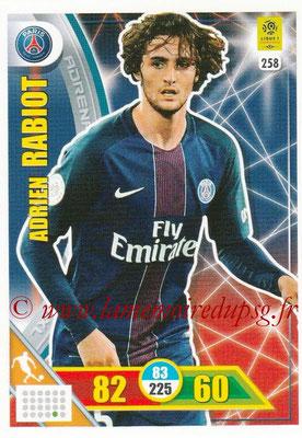 2017-18 - Panini Adrenalyn XL Ligue 1 - N° 258 - Adrien RABIOT (Paris Saint-Germain)