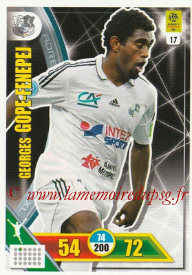 2017-18 - Panini Adrenalyn XL Ligue 1 - N° 017 - Gorges GOPE-FENEPJ (Amiens)