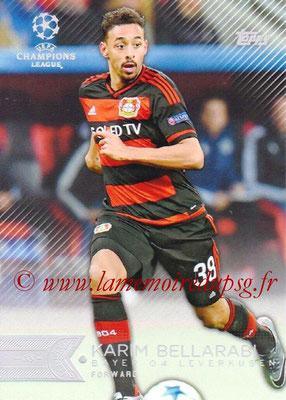 2015-16 - Topps UEFA Champions League Showcase Soccer - N° 114 - Karim BELLARABI (Bayer 04 Leverkusen)