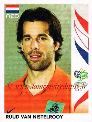 2006 - Panini FIFA World Cup Germany Stickers - N° 241 - Ruud VAN NISTELROOY (Pays Bas)