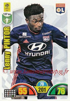 2018-19 - Panini Adrenalyn XL Ligue 1 - N° 137 bis - Lenny PINTOR (Lyon)
