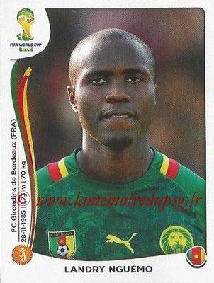 2014 - Panini FIFA World Cup Brazil Stickers - N° 102 - Landry NGUEMO (Cameroun)