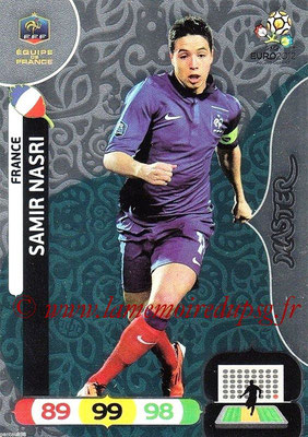 Panini Euro 2012 Cards Adrenalyn XL - N° 286 - Samir NASRI (France) (Master)