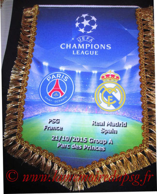 Grand Fanion  Real Madrid-PSG  2015-16