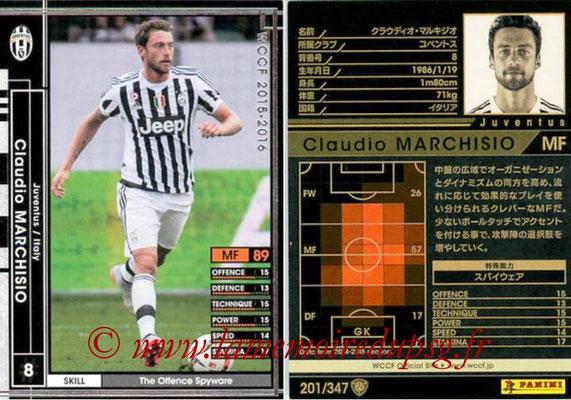 2015-16 - Panini WCCF - N° 201 - Claudio MARCHISIO (Juventus FC)