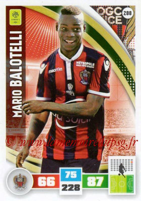 2016-17 - Panini Adrenalyn XL Ligue 1 - N° 288 - Mario BALOTELLI (Nice)