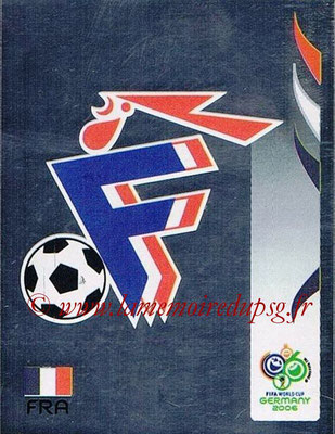 2006 - Panini FIFA World Cup Germany Stickers - N° 455 - Logo France