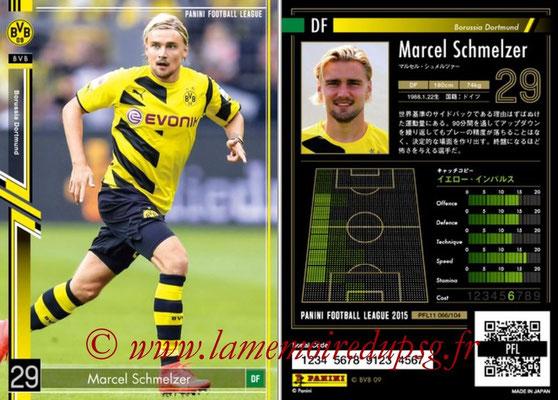 Panini Football League 2015 - PFL11 - N° 066 - Marcel SCHMELZER (Borussia Dortmund)