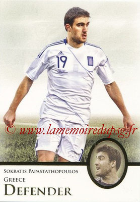 2013 - Futera World Football Unique - N° 024 - Sokratis PAPASTATHOPOULOS (Grèce) (Defender)