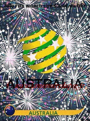 2010 - Panini FIFA World Cup South Africa Stickers - N° 278 - Logo Australie