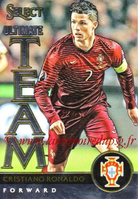 2015 - Panini Select Soccer - N° UT15 - Cristiano RONALDO (Portugal) (Ultimate Team)