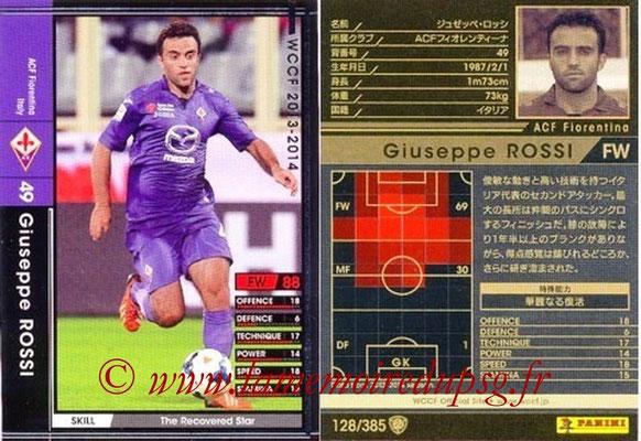 2013-14 - WCCF - N° 128 - Giuseppe ROSSI (ACF Fiorentina)