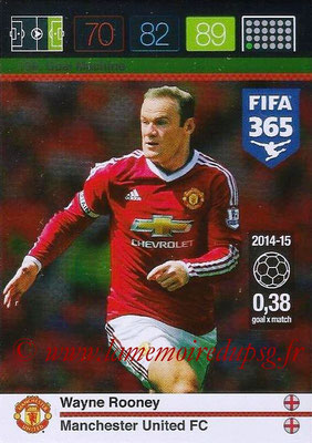 2015-16 - Panini Adrenalyn XL FIFA 365 - N° 199 - Wayne ROONEY (Manchester United FC) (Goal Machine)