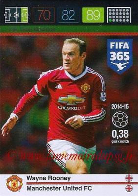 2015-16 - Panini Adrenalyn XL FIFA 365 - N° 199 - Wayne ROONEY (Manchester United FC) (Goal Machine)