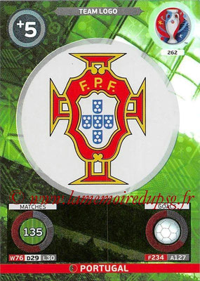 Panini Euro 2016 Cards - N° 262 - Logo Portugal (Team Logo)