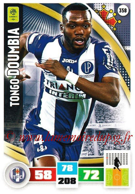 2016-17 - Panini Adrenalyn XL Ligue 1 - N° 358 - Tongo DOUMBIA (Toulouse)