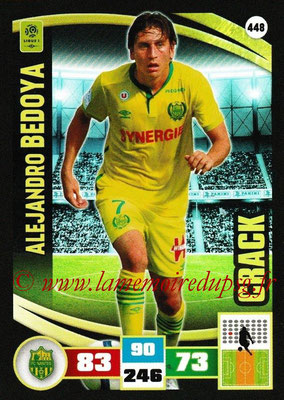 2016-17 - Panini Adrenalyn XL Ligue 1 - N° 448 - Alejandro BEDOYA (Nantes) (Crack)