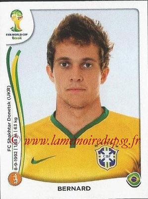 2014 - Panini FIFA World Cup Brazil Stickers - N° 045 - BERNARD (Brésil)