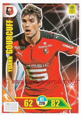 2017-18 - Panini Adrenalyn XL Ligue 1 - N° 277 - Yoann GOURCUFF (Rennes)