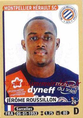 2015-16 - Panini Ligue 1 Stickers - N° 276 - Jérôme ROUSSILLON (Montpellier Hérault SC)