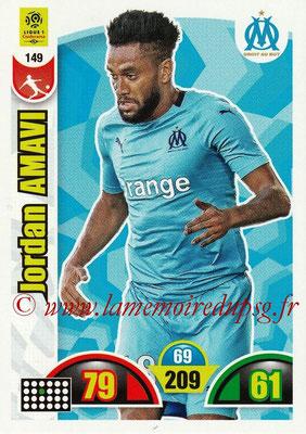 2018-19 - Panini Adrenalyn XL Ligue 1 - N° 149 - Jordan AMAVI (Marseille)