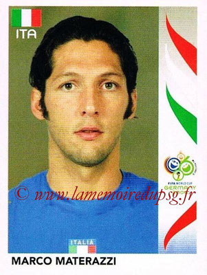 2006 - Panini FIFA World Cup Germany Stickers - N° 325 - Marco MATERAZZI (Italie)