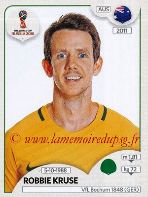 2018 - Panini FIFA World Cup Russia Stickers - N° 231 - Robbie KRUSE (Australie)