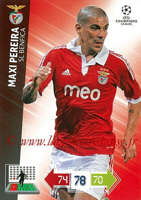 2012-13 - Adrenalyn XL champions League N° 060 - Maxi PEIRERA (SL Benfica)