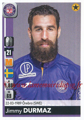 2018-19 - Panini Ligue 1 Stickers - N° 490 - Jimmy DURMAZ (Toulouse)