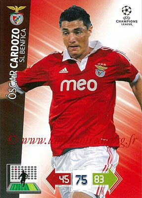2012-13 - Adrenalyn XL champions League N° 069 - Oscar CARDOSO (SL Benfica)