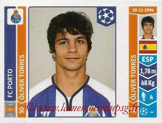 2014-15 - Panini Champions League N° 568 - Oliver TORRES (FC Porto)