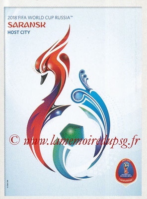 2018 - Panini FIFA World Cup Russia Stickers - N° 031 - Saransk
