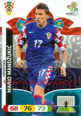 Panini Euro 2012 Cards Adrenalyn XL - N° 112 - Mario MANDZUKIC (Croatie)