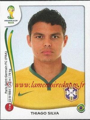 2014 - Panini FIFA World Cup Brazil Stickers - N° 035 - Thiago SILVA (Brésil)