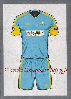 2015-16 - Topps UEFA Champions League Stickers - N° 159 - Maillot Exterieur (FC Astana)