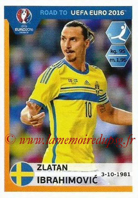 N° 352 - Zlatan IBRAHIMOVIC (2012-??, PSG > 2015 Suède)