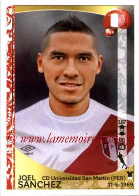 Panini Copa America Centenario USA 2016 Stickers - N° 201 - Joel SANCHEZ (Perou)